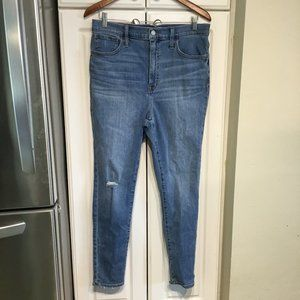 Madewell Road Tripper High Rise Skinny Ankle Jeans